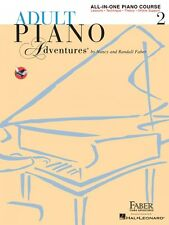 Adult Piano Adventures All-in-One Lesson Book 2 Faber Piano Adventures 000420246