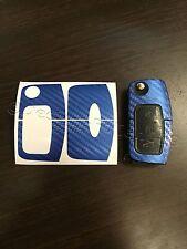 Carbon blau Folie Schlüssel Ford MK2 Galaxy C S Fiesta Max Smax CMax RS ST Focus