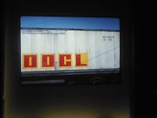Original Slide train Yard car cargo Freight OOCL Orient Overseas container line