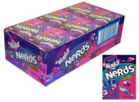 Wonka Nerds Lollies x 24 Grape Strawberry Candy Buffet Party Favors Bulk Lollies