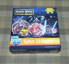 Angry Birds Star Wars 3D 150 Pc Puzzle  2012 - Sealed