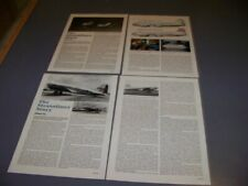 VINTAGE..BOEING 307 STRATOLINER (PART 1 & 2).STORY/HISTORY/3-VIEWS..RARE! (626T)