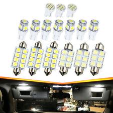 16PCS 6500K Bright White LED Bulb Interior Lights Package Kit Car Accessories