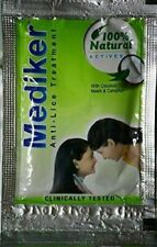 100 pouch Mediker Anti Lice Treatment Shampoo. 5 ML Pouch FREE SHIP from india
