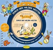 Kinder tanzen durch den Wilden Westen von B. Scheer und E. Gulden - Mit CD - NEU