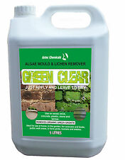 Algae mould and lichen remover 5 ltr Biodegradable Remove organic green growth!!