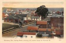 MONTEREY, CA Old Custom House Alvarado Street Scene ca 1910s Vintage Postcard