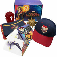 Culturefly Captain Marvel Collectors Box Kid Toy Gift