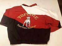 American Bulldog Mens XXL windbreaker Holloway Vintage AB History 1990s