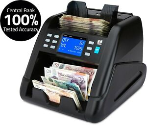 Note Counter Machine Money Currency Banknote Mixed Value Counting Cash ZZap