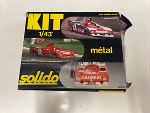 SOLIDO METAL KIT 41K ALFA ROMEO 33 TT 12 1/43 SCALE