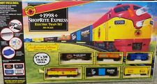 ELECTRIC TRAIN SET HO SCALE 1998 SHOP RITE EXPRESS OVAL TRACK COLLECTOR'S EDT