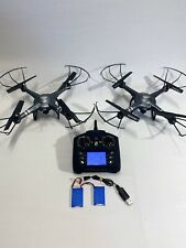 Lot of 2 Propel Cloud Rider 2.0 2.4Ghz Quadcopter with Hd Camera