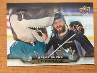 UPPER DECK 2015-2016 SERIES ONE BRENT BURNS CANVAS HOCKEY CARD C-74