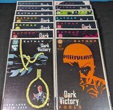 Batman Dark Victory Complete Set! #1-13 + #0! All high grade!