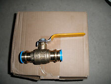 lot of 10- 3/4 propress ball valve full port lead free BLOWOUT PRICE press