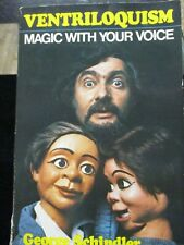 Ventriloquism Magic With Your Voice George Schindler Signed