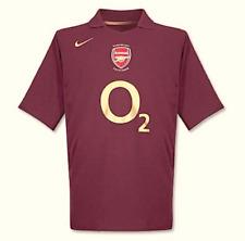 Nike Kinder Trikot Jersey Gr.158 Arsenal London 2005/2006 total90 Weinrot 90729