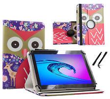 """Schutzhülle für Samsung Galaxy Tab 2 P5110 Tablet Case 10.1"""" 360 Reh Eule"""