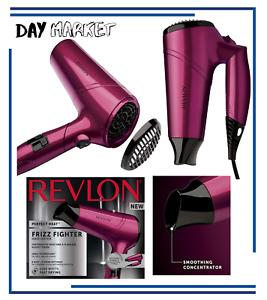 Revlon RVDR5229UK Folding Handle Travel Hair Dryer 2200W Frizz Free Ionic 3 Heat
