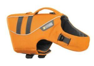 Ruffwear Float Coat Dog Life Jacket Medium Wave Orange New w/o Tags 27 - 32 in