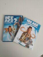 DVD  lote ICE AGE  (la edad del hielo) y ice age 2 (el deshielo )