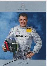 Jean Alesi  DTM  Mercedes 2003 Autogrammkarte Druck signiert 384921