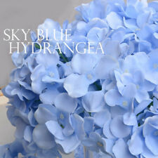 Artificial Hydrangea Bouquet Flower Silk Flowers With Free Stem For Decoration