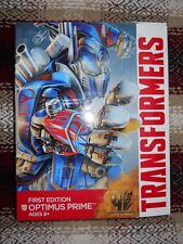 V9_1 Transformers Movie Lot FIRST EDITION OPTIMUS PRIME Leader Class AOE TF4