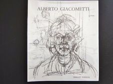 Alberto Giacometti, vintage hardcover Jacques Dupin'62, Maeght Paris INV349