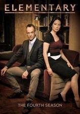 Elementary Season 4 (region 1) DVD The Complete Fourth Series Four