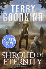 *SIGNED/AUTOGRAPHED* Shroud of Eternity by Terry Goodkind HARDCOVER - BRAND NEW!