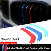 3x M-Tech Kidney Grille Grill Cover Stripe Clips For BMW 1 Series F20 F21 15-19