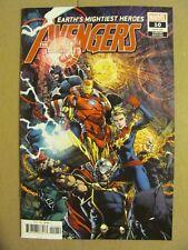 Avengers #10 Marvel 2018 Series #700 Issue Finch Variant 9.4 Near Mint