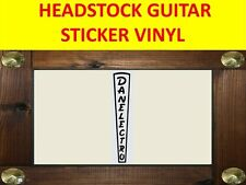 DANELECTRO BLACK BASS HEADSTOCK PEGATINA PRODUCT ON SALE UNTIL END OF STOCK