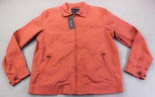 Tommy Hilfiger Mens Nantucket Red Zip Pockets Windbreaker...