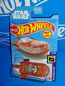Hot Wheels New For 2021 HW Screen Time #12 X-34 Landspeed Brown STAR WARS