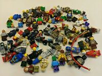 1/2 Lb of LEGO Minifigure Lot PURE MINIFIGS over 60 MINIFIGS star wars g50