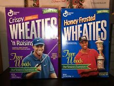 Masters Champion Tiger Woods Unopened Wheaties Boxes - Rare