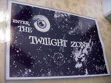 "Twilight Zone TV Show (Rod Serling)~11x17"" Mini poster in clear flex holder SALE"