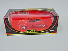 1/18 Solido VW Volkswagen BEETLE Red DieCast Model #zt