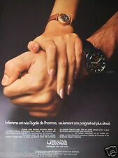PUBLICITÉ 1972 BULOVA ACCUTRON MONTRE POUR DAME - ADVERTISING