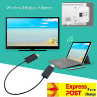 Wireless Display Adapter Receiver HDMI for MacBook Pro Air iPhone iPad Win 10/8