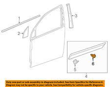 Chevrolet Gm Oem 12-15 Captiva Sport Front Door-Side Molding Retainer 94530635