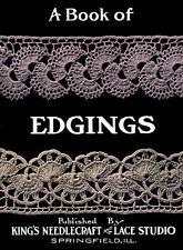 King's Book of Edgings c.1912 - Vintage Crochet  Edging Patterns