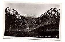 Le Col des Aravis et le Mont Blanc   (J511)