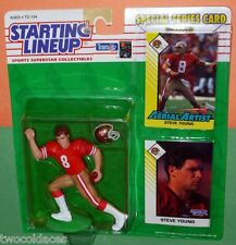 1993 STEVE YOUNG San Francisco 49ers - FREE s/h - Starting Lineup forty-niners