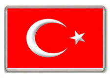 TURKEY FLAG FRIDGE MAGNET SOUVENIR IMÁN NEVERA