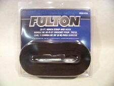 Fulton 20' Winch Strap and Hook for Boat and Trailer bow winch Nylon Webbing
