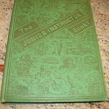 THE JUNIOR INSTRUCTION BOOK HB ILLUSTRATED 1943 ED. LITTLE BLACK SAMBO